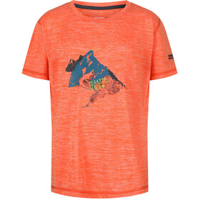 Regatta Alvarado IV t-shirt Kinderen, blaze orange